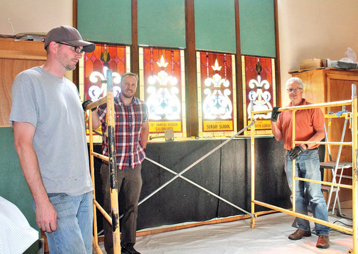Salida United Methodist Church Stained Glass Renovation and Repair by Denver Art Glass