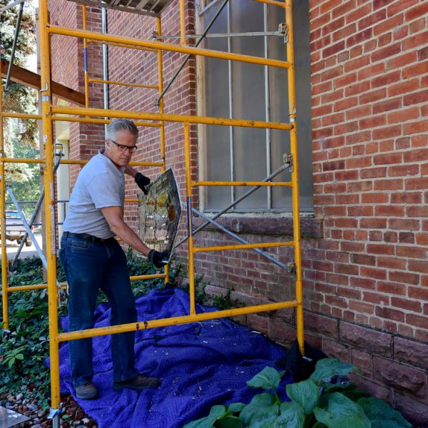 Hygiene-Methodist-Church-Stained-Glass-Restoration-outside